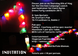 Campaign Launch Invite 2014